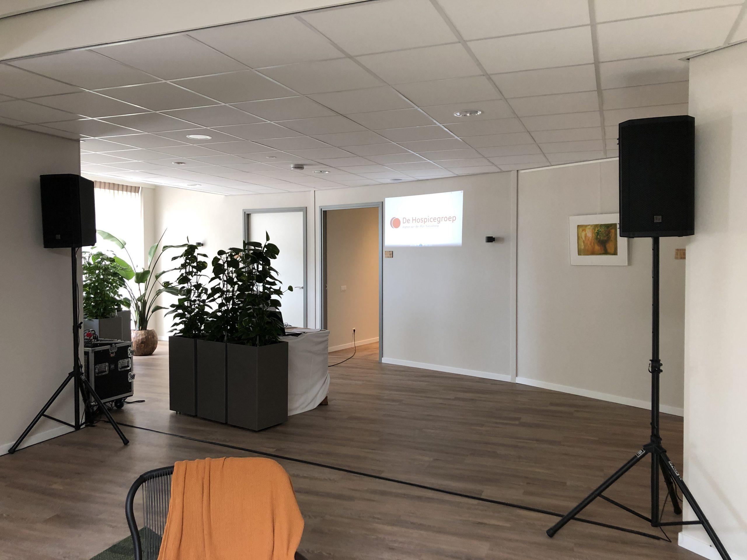 Geluid set - presentatie